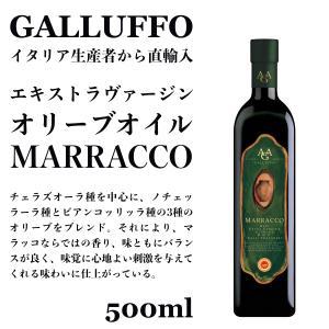 イタリア直輸入 エキストラヴァージンオリーブオイル ガルッフォ(GALLUFFO)マラッコ(MARRACCO)500ml|dolcevita-kagurazaka