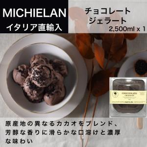 今だけ数量限定500円OFF!イタリアンジェラート チョコレート ミキエラン (MICHIELAN) 2,500ml 業務用|dolcevita-kagurazaka