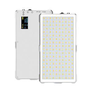Rakuby LED ビデオライト 撮影用ライト 照明ライト フィルライトパネル 180ビーズ 3200-5600K CRI96+ 1300|dole-store