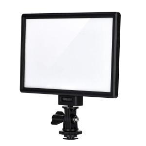 VILTROX L116T LED ビデオライト 超薄型LEDパネル 輝度と色温度調整可能 3300K-5600K CRI95+ 小物撮影|dole-store