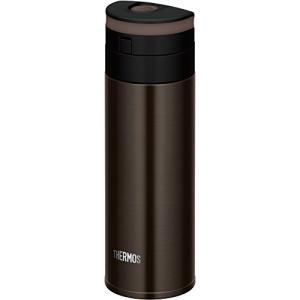 サーモス 水筒 真空断熱ケータイマグ ワンタッチオープンタイプ 350ml エスプレッソ JNS-351 ESP|dole-store