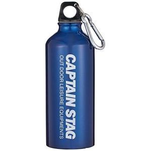 キャプテンスタッグ(CAPTAIN STAG) 水筒 600ml/軽量/保温・保冷/カラビナ付 アルミボトル600ml ブルーM-5416|dole-store