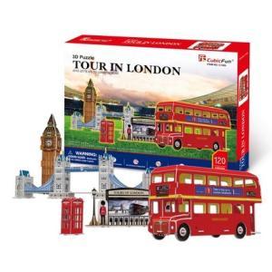 3D立体パズル ロンドン ツアー|doll-kamisugiya