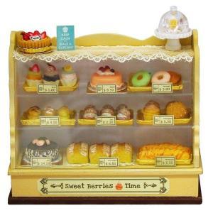 ケーキショーケースキット ケーキ付 ミニチュア|doll-kamisugiya