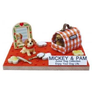ビリーの手作りドールハウスキット ミッキー&パム 子供 夏休み工作キット ミニチュア|doll-kamisugiya
