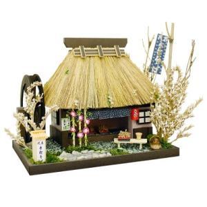ビリーの手作りドールハウスキット そば屋 蕎麦屋  子供 夏休み工作キット ミニチュア|doll-kamisugiya