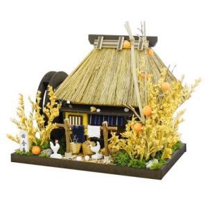 ビリーの手作りドールハウスキット 田舎庵 茅葺屋根 子供 夏休み工作キット ミニチュア|doll-kamisugiya