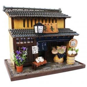 製作代行 ビリーの手作りドールハウスキット 漬物屋 完成品 アクリルケース入り|doll-kamisugiya