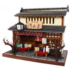 ビリーの手作りドールハウスキット 陶器屋 子供 夏休み工作キット ミニチュア|doll-kamisugiya