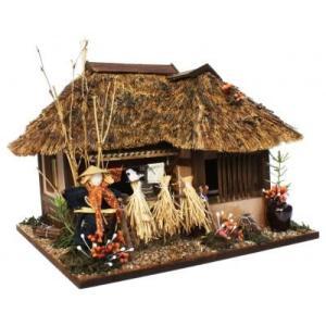 ビリーの手作りドールハウスキット 遠野の曲がり家 子供 夏休み工作キット ミニチュア|doll-kamisugiya