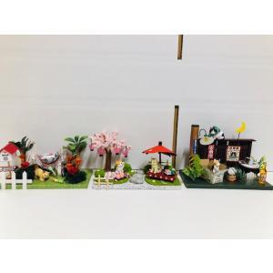 にゃんこのミニチュアライフコレクション くつろぎタイム ねこ 夏休みの宿題 工作 自由研究 初級 ビリー|doll-kamisugiya|06