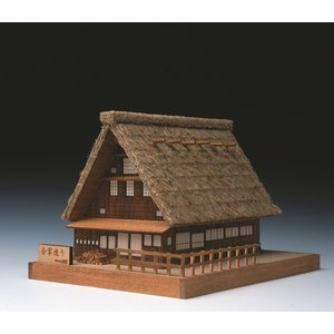 合掌造り ウッディジョー 木製キット|doll-kamisugiya