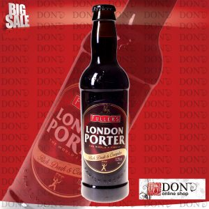 (海外ビール)フラーズ ロンドン ポーター 330ml瓶(1ケース / 24本)(イギリス ビール)|don-online01