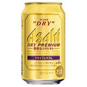 アサヒ スーパードライ プレミアム 350ml缶 1ケース ...