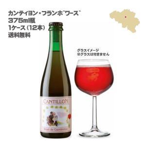 (送料無料)(ベルギー発泡酒)カンティヨン・フランボワーズ 375ml瓶 (1ケース / 12本)(ランビックビール)|don-online01