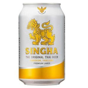 (海外ビール)シンハー 330ml缶(1ケース / 24本)(タイ ビール)