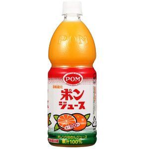 (1ケース6本)POM ポンジュース みかん(1L PET / 1ケース / 6本入)(果汁100%...