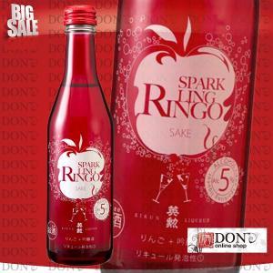 英勲 SPARK RINGO スパーク リンゴ サケ 250ml 10本セット(齊藤酒造)|don-online01