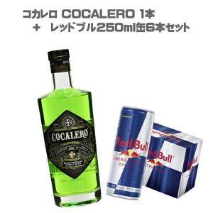 (送料無料)コカレロ COCALERO レッドブル250ml缶6缶セット (700ml  /  29%  /  リキュール  /  コカ  /  緑  /  コカの葉  /  アンデス) don-online01