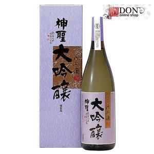 神聖 清酒 大吟醸 山本本家 国産米 1800ml|don-online01