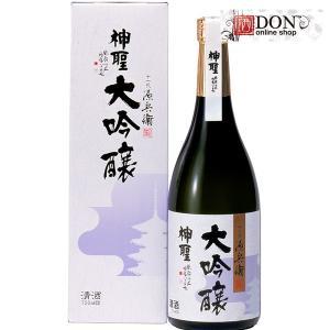 神聖 清酒 大吟醸 山本本家 国産米 720ml|don-online01