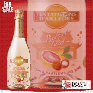(スパークリング)ペティアン・ド・リステルライチ&ピンクグレープフルーツ フランス スパークリング 750ml don-online01