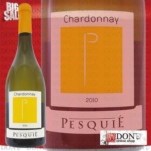 (白ワイン) シャトーペスキエ シャルドネ 白ワイン フランス 750ml V2323|don-online01