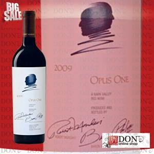(クール便送料無料)オーパス・ワン 2009年 カリフォルニア 赤ワイン 750ml(ギフトBOX / 包装付)|don-online01