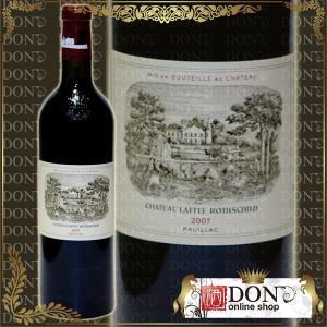 (ヴィンテージワイン) シャトー・ラフィット・ロートシルト[2007]年・ポイヤック格付第一級 2007 / 赤 / 750ml|don-online01
