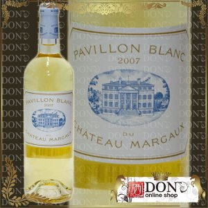 (ヴィンテージワイン) パヴィヨン・ブラン・デュ・シャトー・マルゴー[2007]年 2007 / 白 / 750ml|don-online01