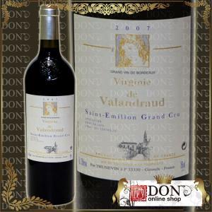 (ヴィンテージワイン) ヴィルジニー・ド・ヴァランドロー[2007]年 2ndラベル・ジャン リュック テュヌヴァン元詰 2007 / 赤 / 750ml|don-online01