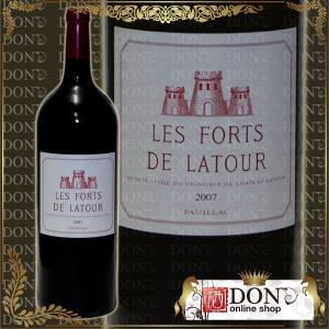 (ヴィンテージワイン) レ フォール ド・ラトゥール 2007年 マグナムボトル 公式格付第一級 2ndラベル 2007年 赤ワイン 1500ml|don-online01