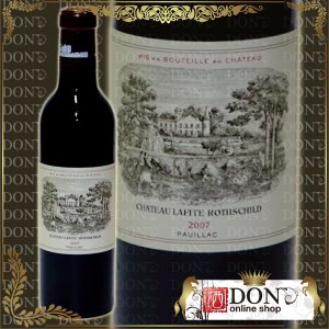 (ヴィンテージワイン) シャトー・ラフィット・ロートシルト[2007]年 格付第一級 2007 / 赤 / 375ml|don-online01