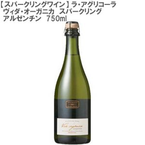 (スパークリング)ラ・アグリコーラ・ヴィダ・オーガニカ スパークリング アルゼンチン 白ワイン 750ml don-online01