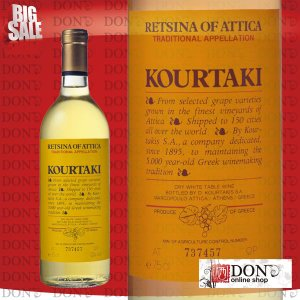 (白ワイン)  クルタキス レッチーナ・オブ・アッティカ ギリシャ 白ワイン 750ml