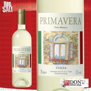 (白ワイン)  プリマベーラ ビアンコ イタリア 白ワイン 750ml