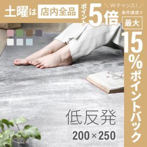 ラグ 洗える ラグマット 三畳 シャギーラグ リビングラグ カーペット 低反発 200×250 防音カーペットの写真