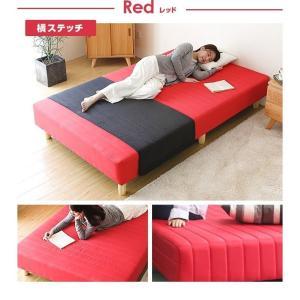 ベッド 脚付きマットレス シングルベッド ロー...の詳細画像3