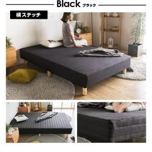 ベッド 脚付きマットレス シングルベッド ロー...の詳細画像5