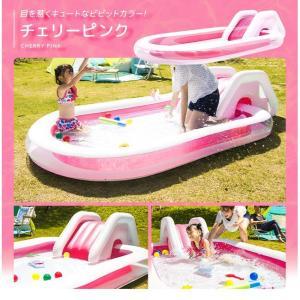 プール すべり台 滑り台 送料無料 ビニールプ...の詳細画像4