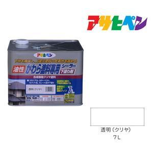 かわら塗料専用シーラー 7L 透明(クリヤ) アサヒペン 