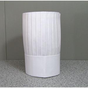 シェフハット コック帽子角型 25cm (紙帽子)10枚セット|dondon