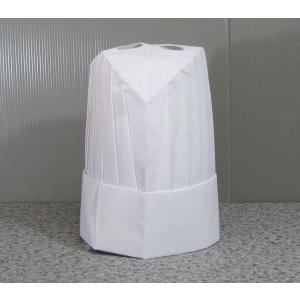 シェフハット コック帽子丸型 (紙帽子)10枚セット|dondon