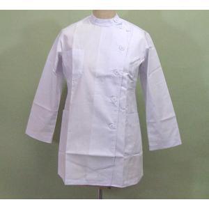 女性用長袖 医療白衣|dondon