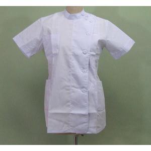 女性用半袖 医療白衣|dondon