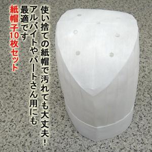 紙帽子 SA-B25 10枚入り|dondon
