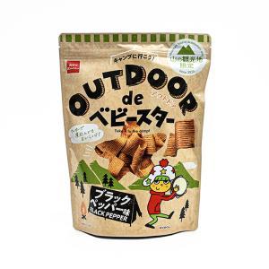 信州長野県のお土産 お菓子 山の観光地限定アウトドアでベビースターブラックペッパー味