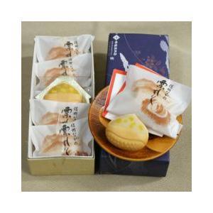 お土産 お菓子 和菓子 峰福堂本店栗もなか5個入 信州長野県長野市のお土産