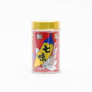 七味唐辛子 八幡屋礒五郎七味唐辛子缶入 信州長野県のお土産|donguri-n