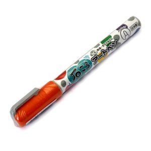 呉竹 くれたけ 工作やハンドクラフトに 石ころアートペン 橙 EH16-2 070 × 6本|donguri-tree
